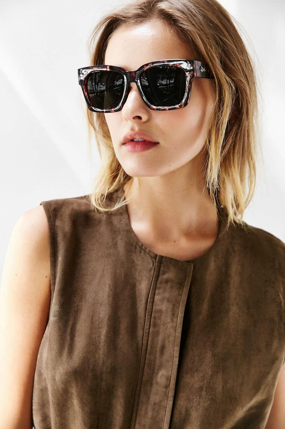306eb3a7eb Lyst - Quay Midnight Runner Sunglasses in Brown