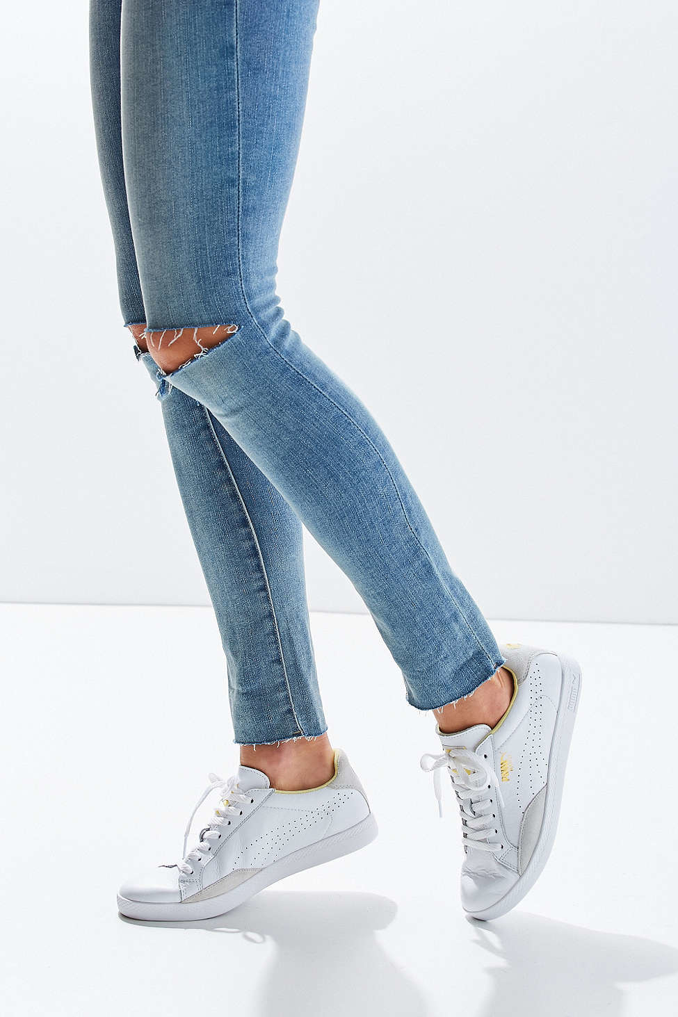 0b9333b874fc Lyst - PUMA Match Lo Basic Sport Sneaker in White