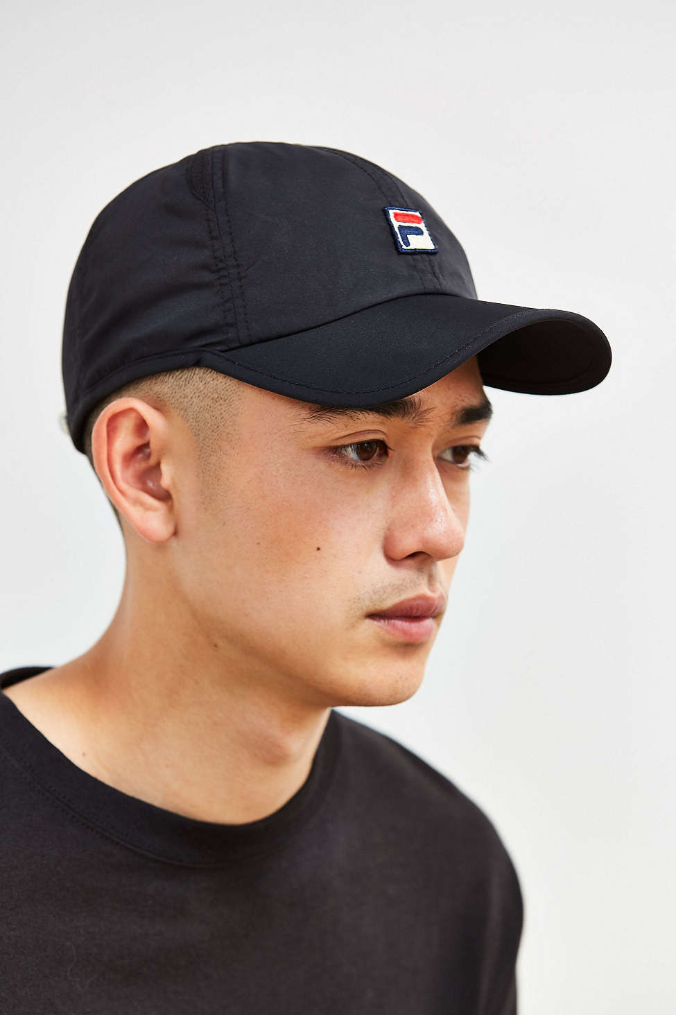 Lyst - Fila Runner Baseball Hat in Black for Men a815737d0a7c