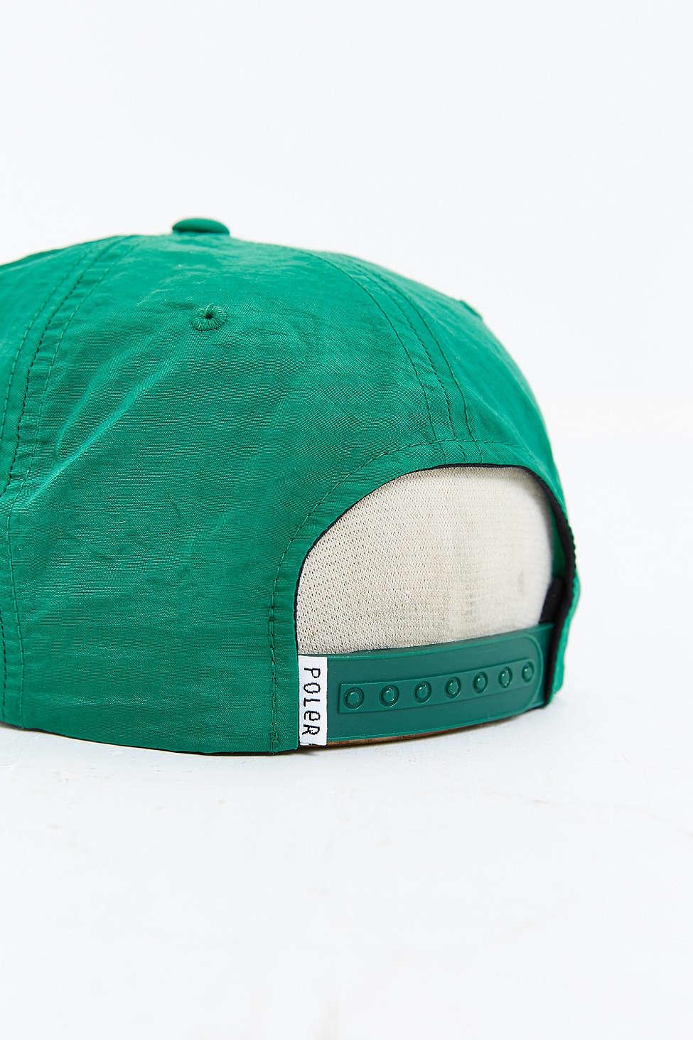 8713463e172 Lyst - Poler Coastal Floppy Baseball Hat in Green for Men