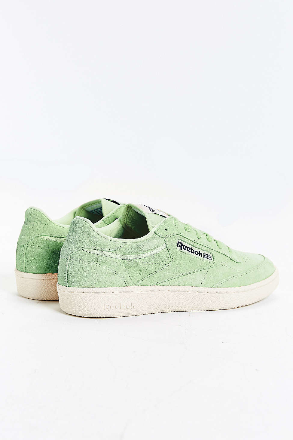 0892f8d821bd Lyst - Reebok Club C 85 Pastel Sneaker in Green for Men
