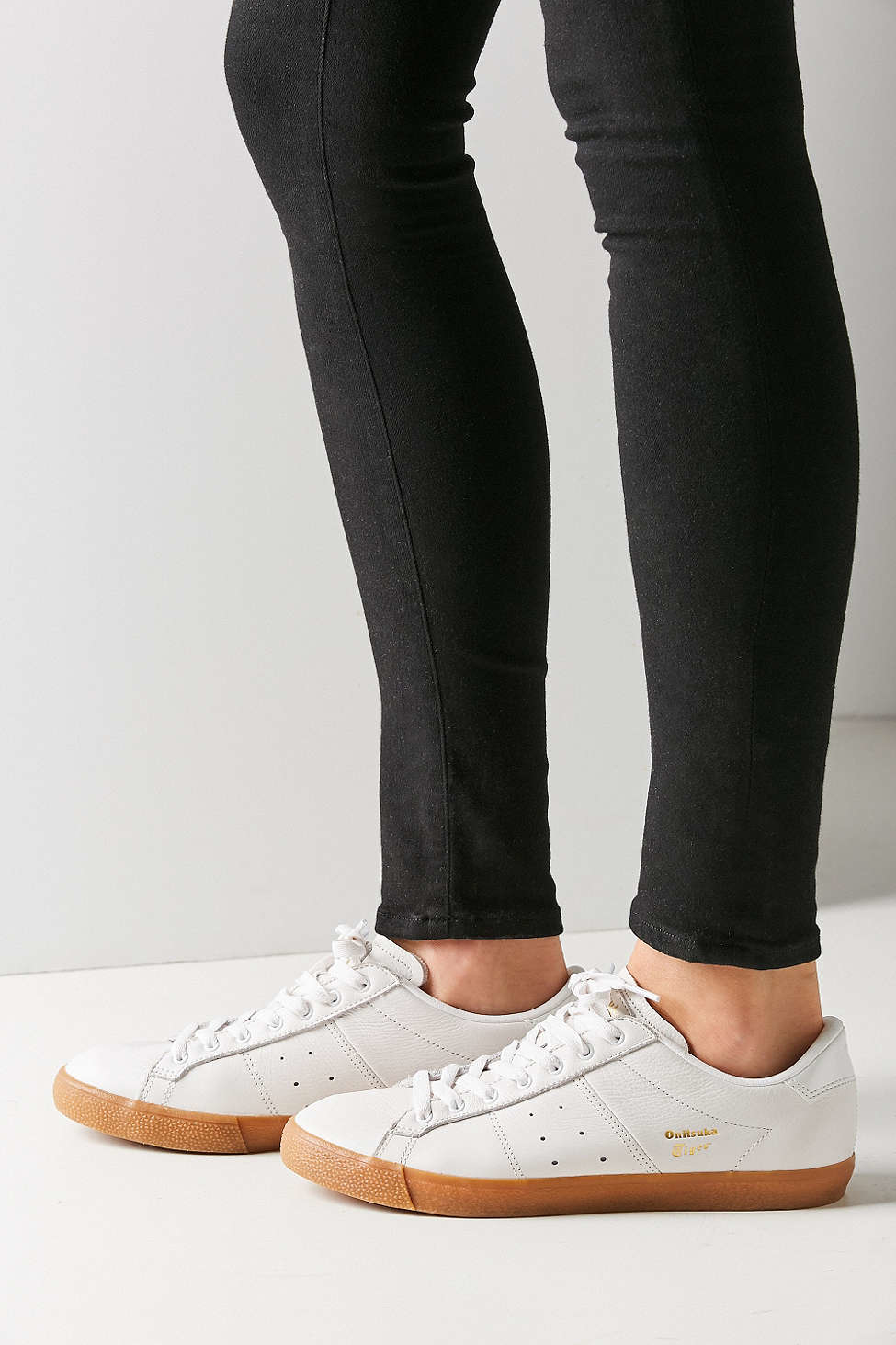 Asics Onitsuka Tiger Lawnship Gum Sole Sneaker In White Lyst