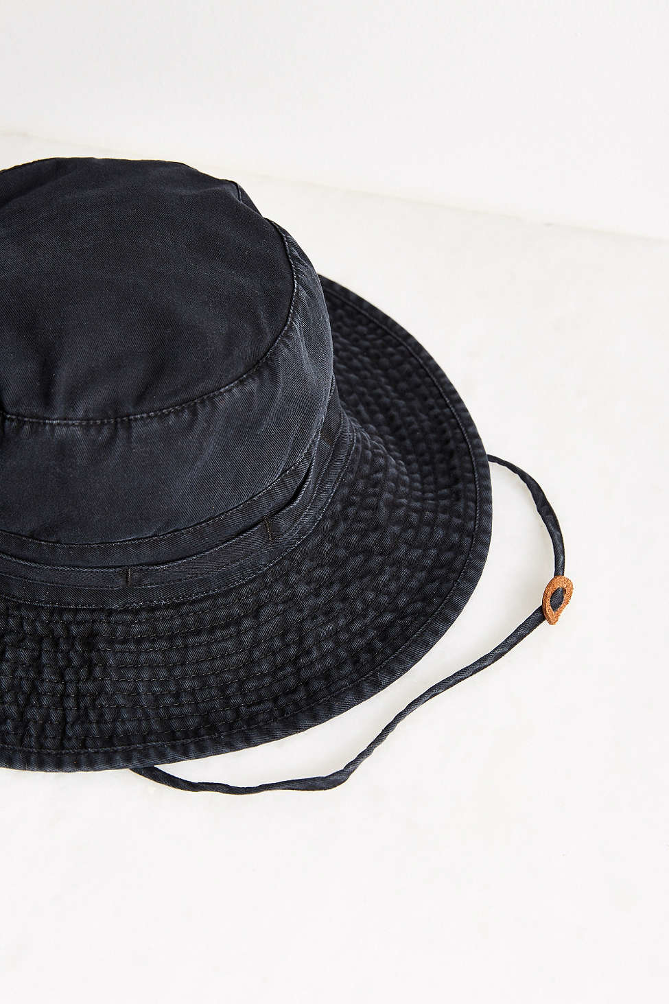 1d6c83d2a03 Lyst - Urban Outfitters Washed Canvas Fishing Bucket Hat in Black