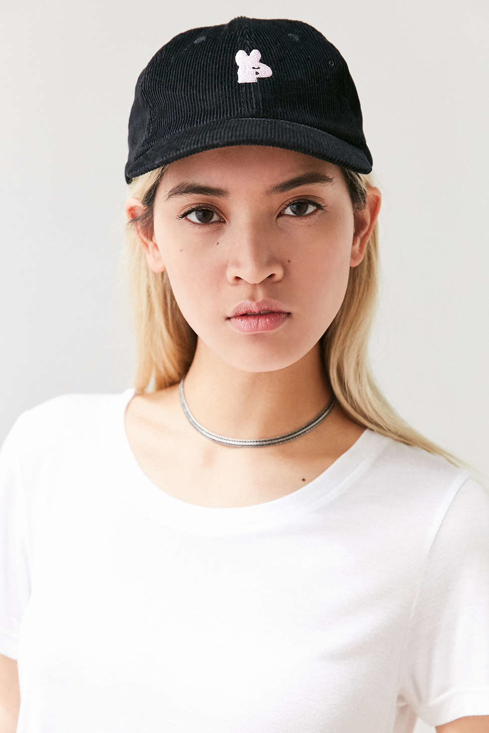 obey francis baseball hat in black lyst