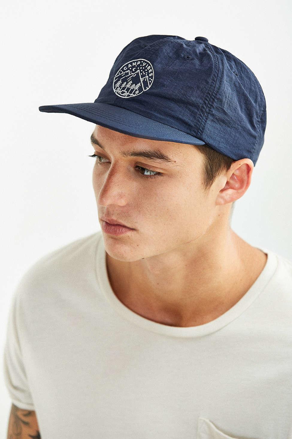Lyst - Poler X Uo Slumber Nylon Hat in Blue for Men 21cdee43186