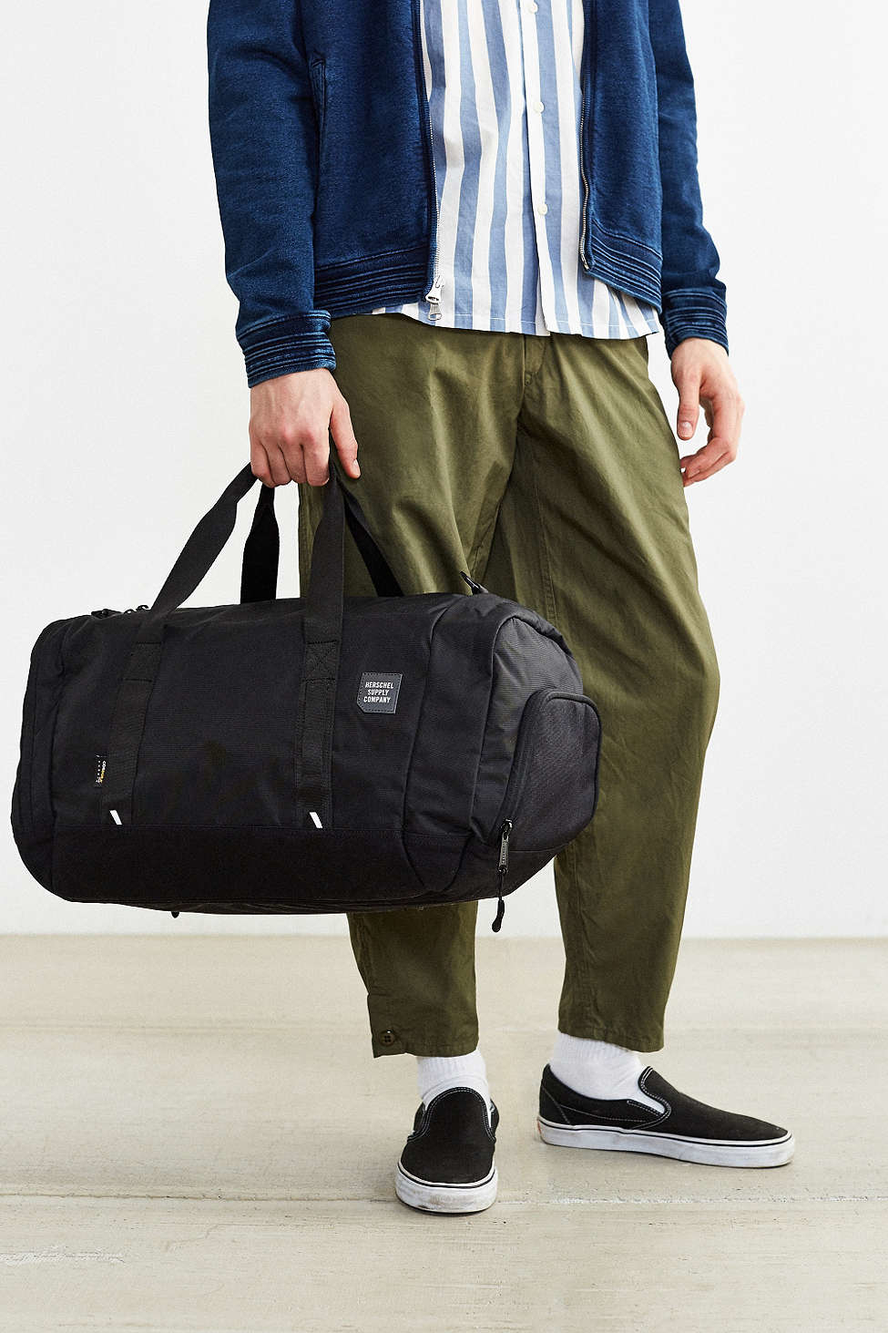 fdd997efaa Lyst - Herschel Supply Co. Trail Gorge Weekender Duffel Bag in Black ...