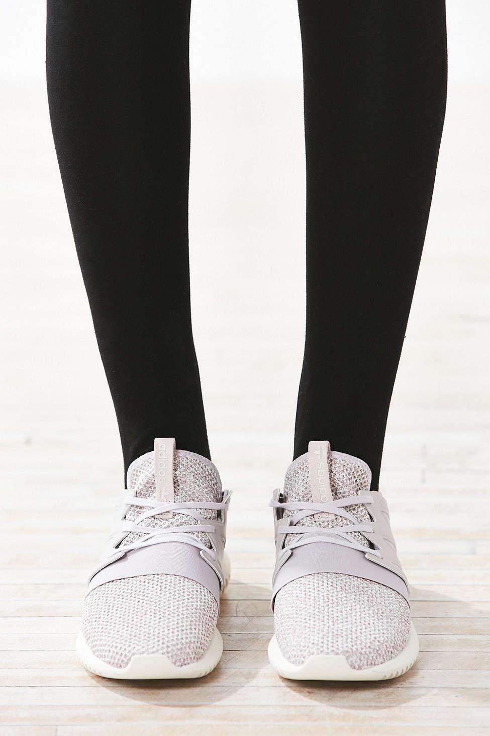 Lyst adidas originali tubolari a virale merletto scarpa