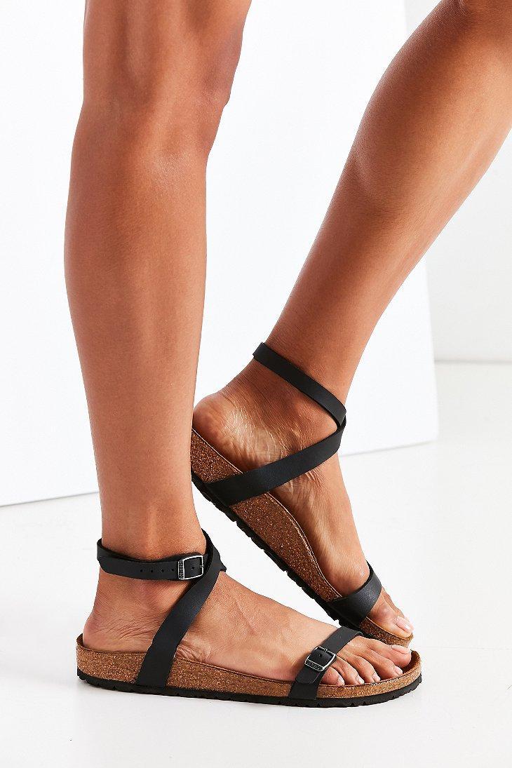 d1381a0f049 Lyst - Birkenstock Daloa Sandal in Black - Save 1%