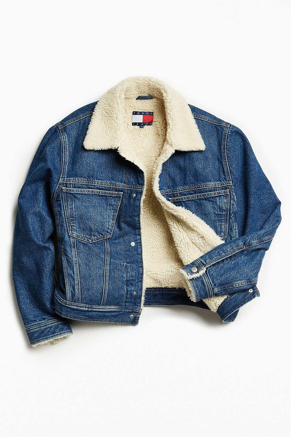 Lyst Tommy Hilfiger Tommy Jeans For Uo Sherpa Lined