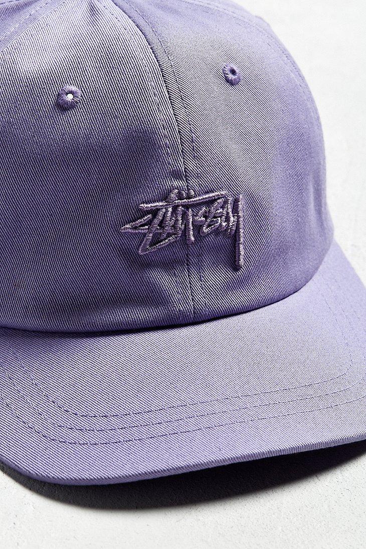 2d597218472 Lyst - Stussy X Uo Tonal Stock Low Hat in Purple for Men