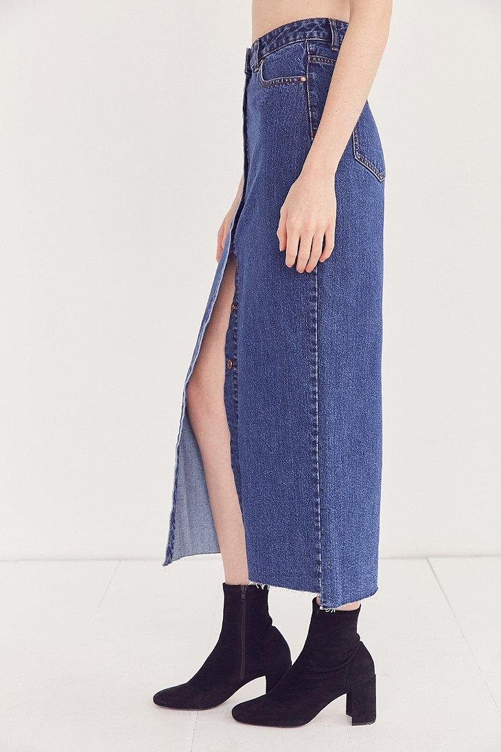 d2f3f52ab0 Dr. Denim Venla Button-front Maxi Skirt in Blue - Lyst