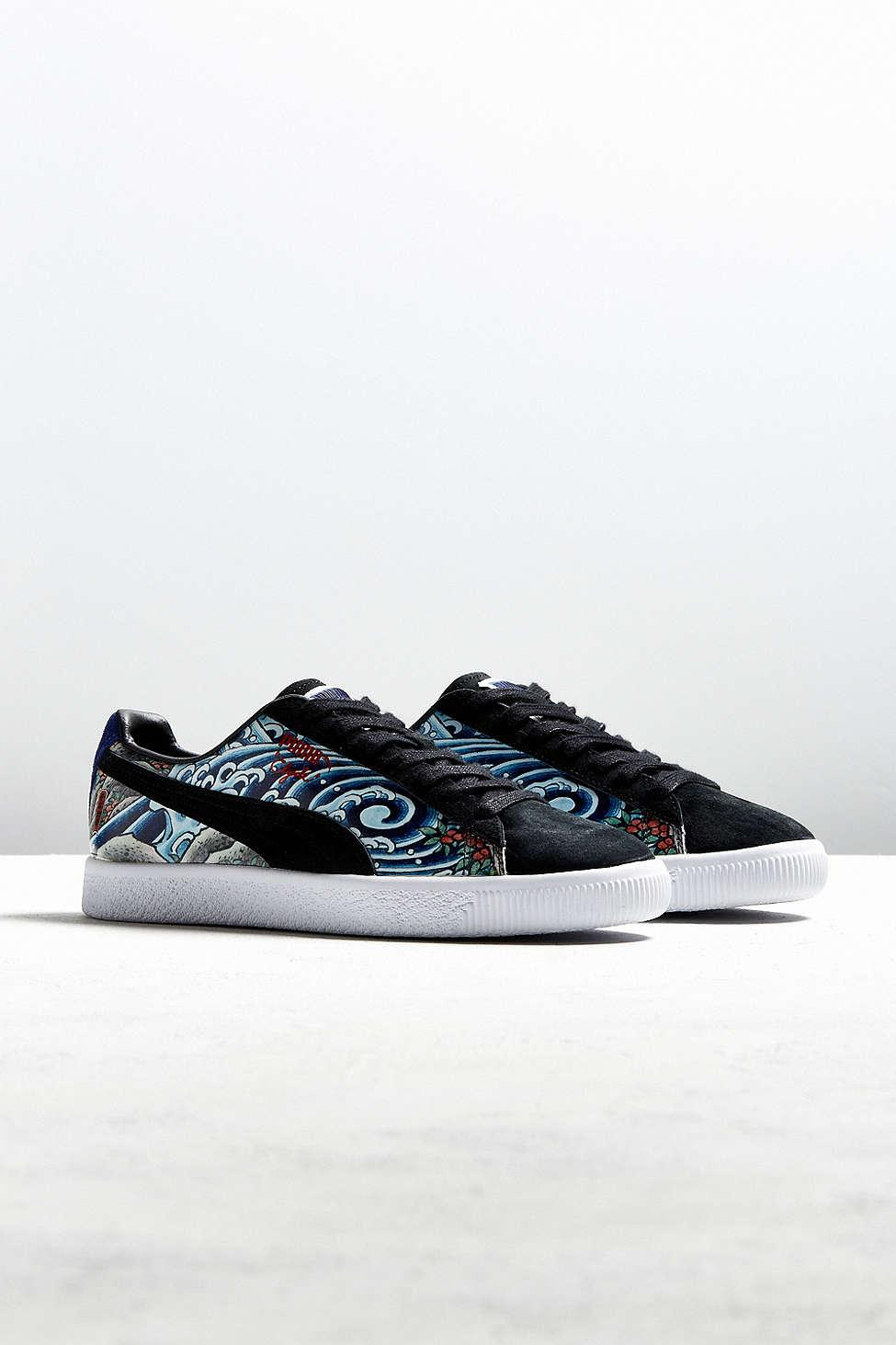 9462da3ebb88 Puma X Atmos Clyde Three Tides Tattoo Sneaker for Men - Lyst
