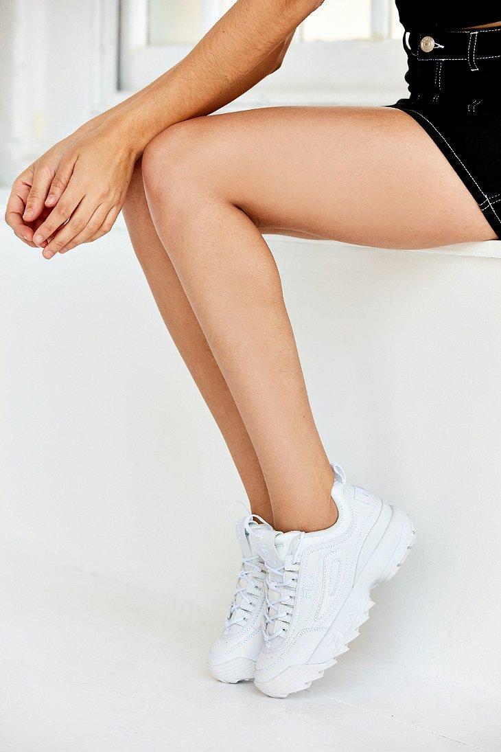 Lyst - Fila Disruptor Ii Sneaker in White f739048a76