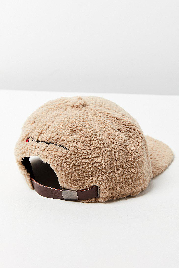Lyst - Champion Sherpa Baseball Hat in Natural for Men