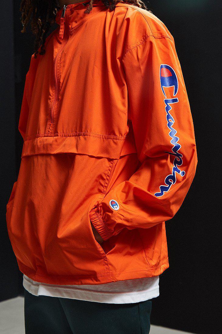 Orange Anorak Jacket amp; In Lyst Champion Men Uo For aqTFHYw