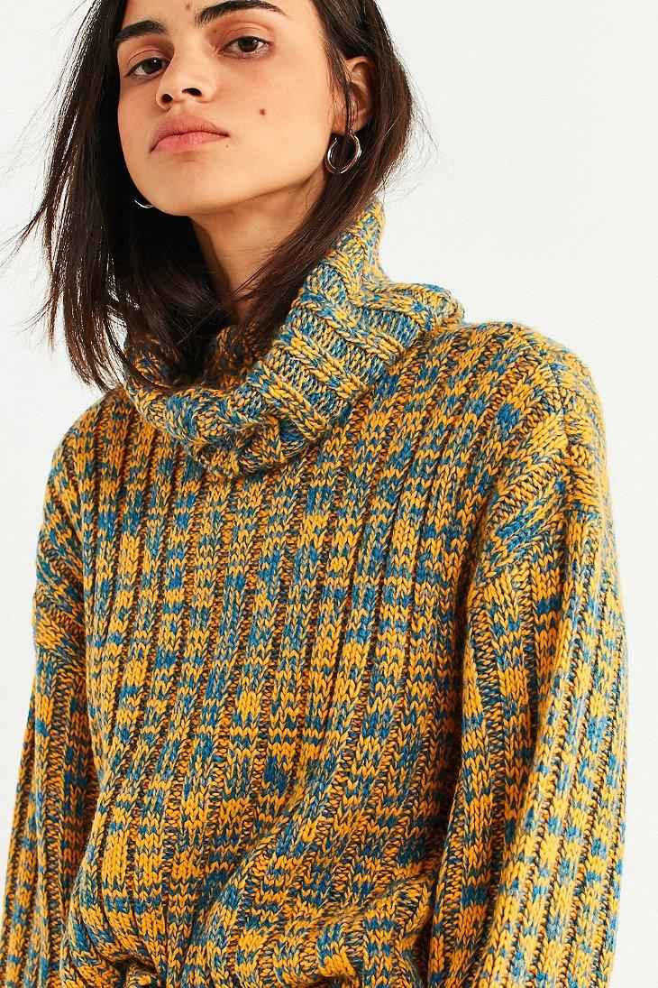 fec577f2a Lyst - BDG Chunky Turtleneck Sweater in Yellow