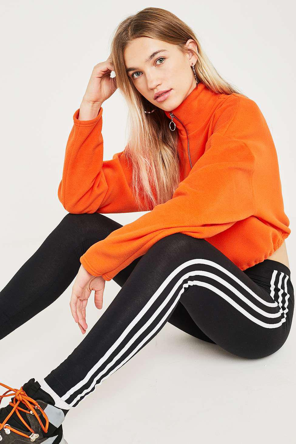 91c4ac734 adidas Originals. Women s Black 3-stripe Leggings. £28 From Urban Outfitters