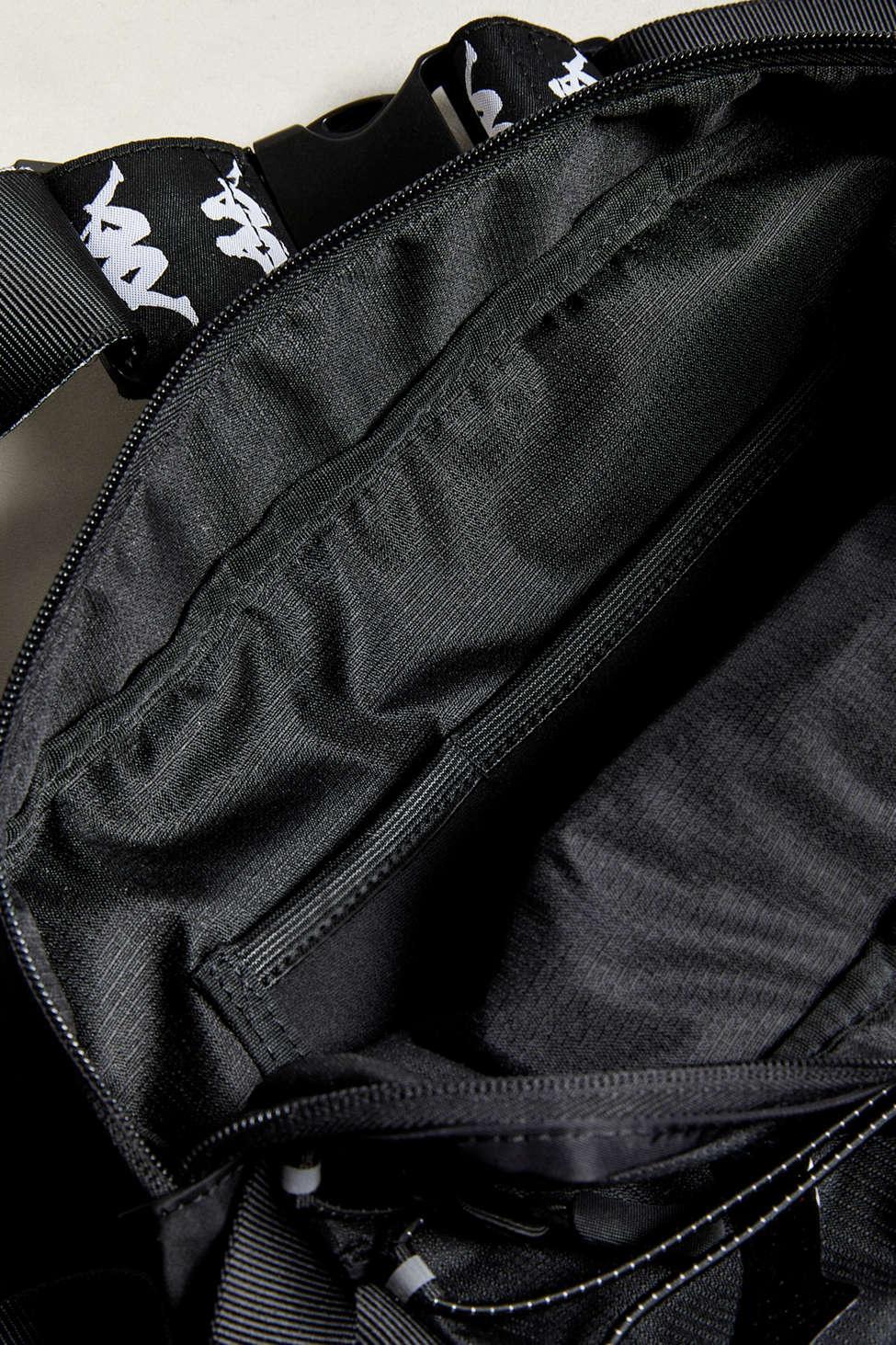 6d6748535b Kappa Premium Sling Bag in Black for Men - Lyst