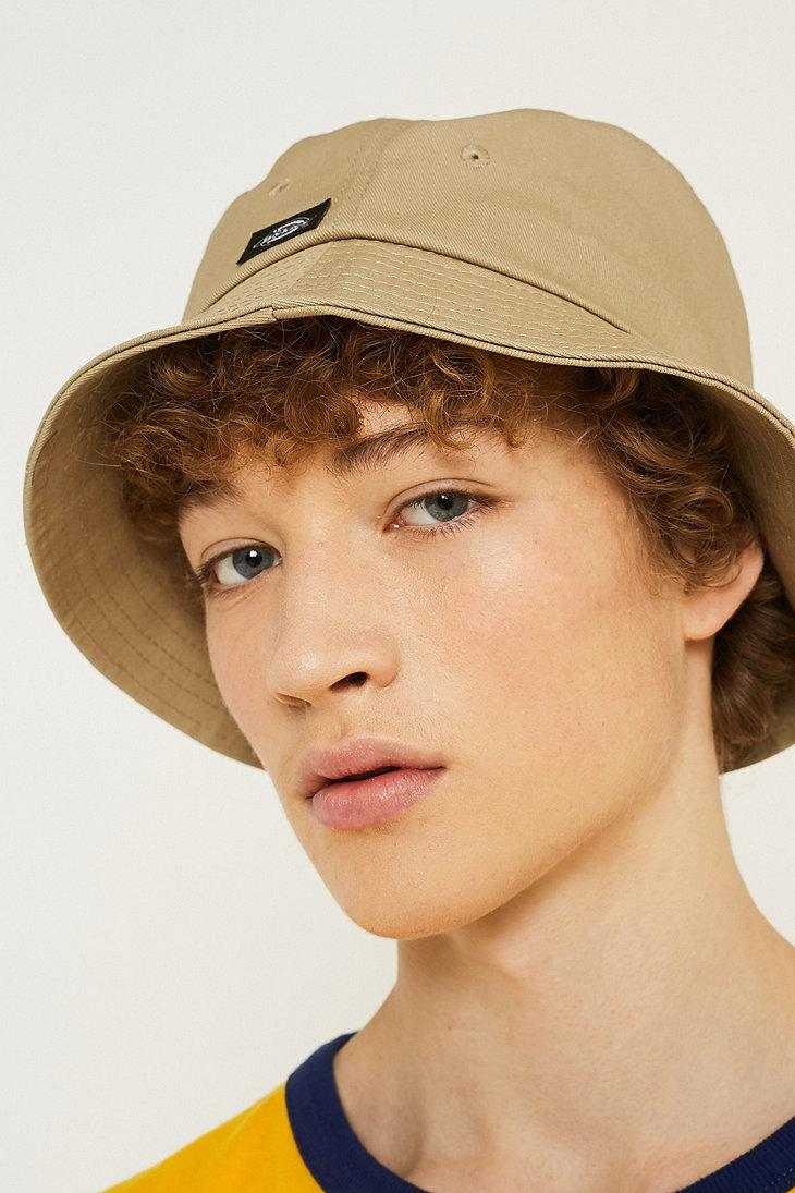 Dickies Addison Khaki Bucket Hat in Green for Men - Lyst 72bd0484a24