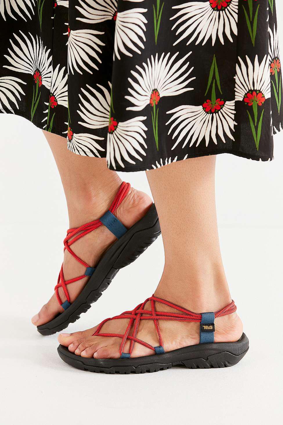 2dc6dc1742b4 Teva Hurricane Xlt Infinity Red Sandals - Womens Uk 8 in Red - Lyst