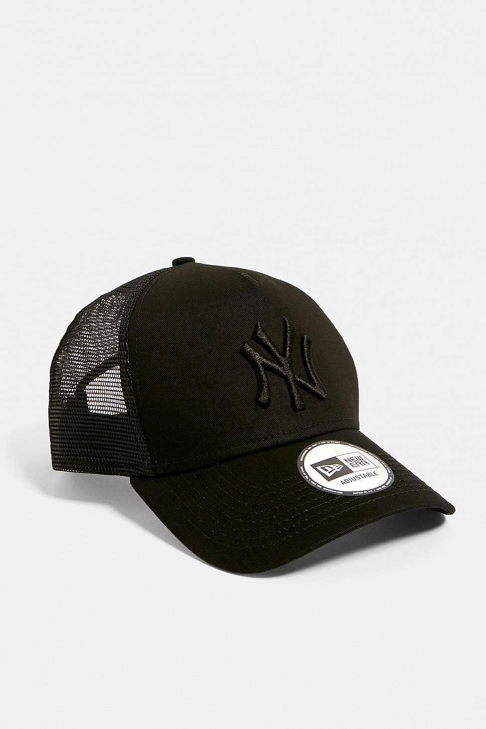 4540837f KTZ - Black Ny Yankees Tonal Trucker Cap - Lyst. View fullscreen