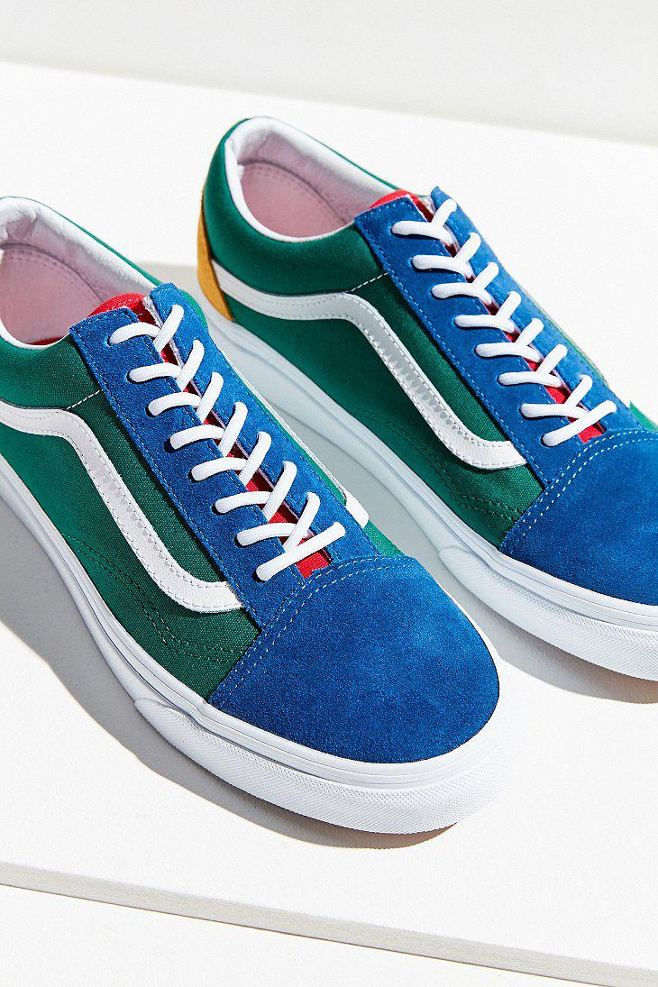 58470f544fcfd8 Lyst - Vans Vans Old Skool Yacht Club Sneaker in Blue