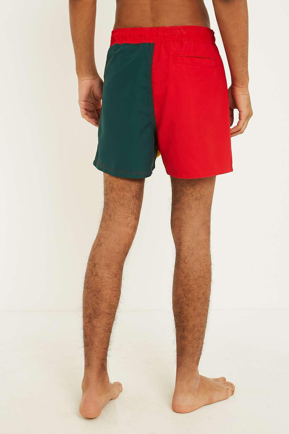 c878a83675 Fila Colourblock Swim Shorts - Mens L in Orange for Men - Lyst