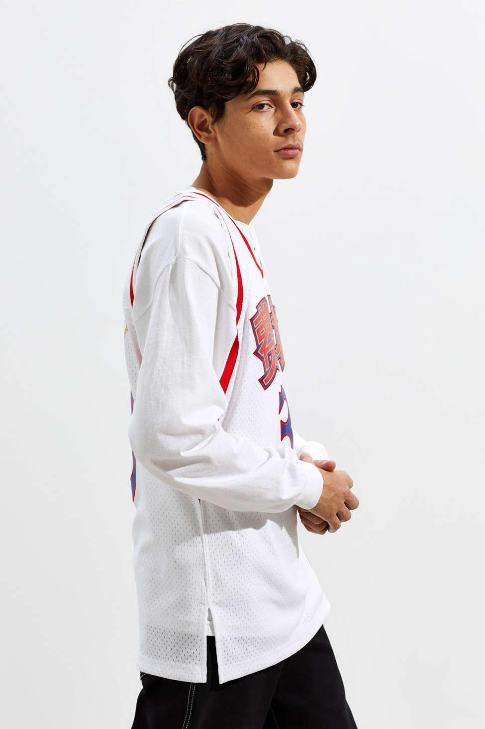 6276e07090fe Lyst - Mitchell   Ness Chinese New Year Philadelphia 76ers Allen ...