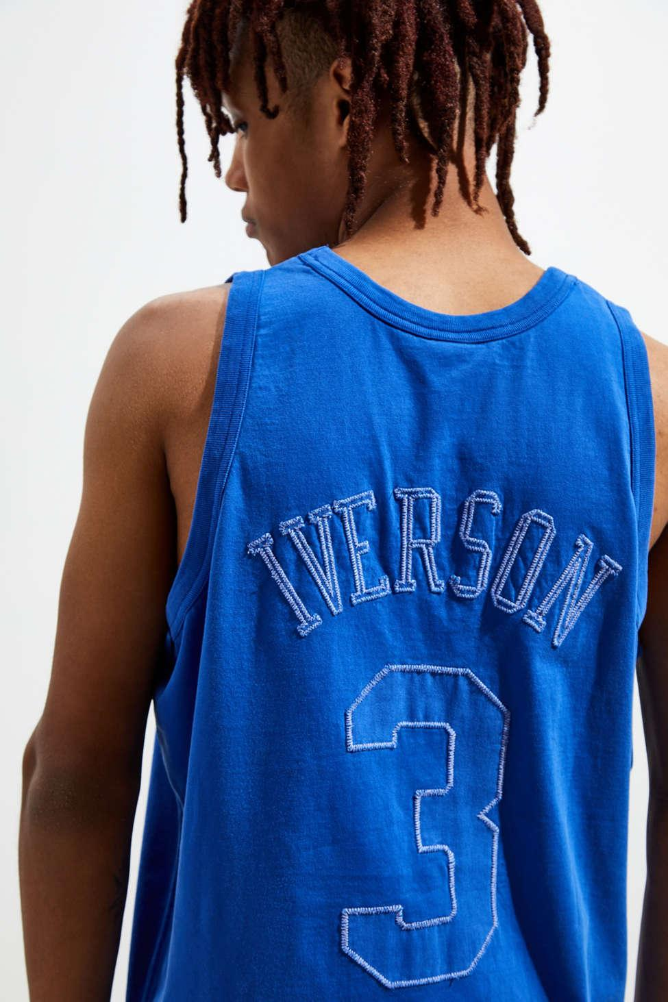 51237e6a Mitchell & Ness Philadelphia 76ers Allen Iverson Washed Out ...
