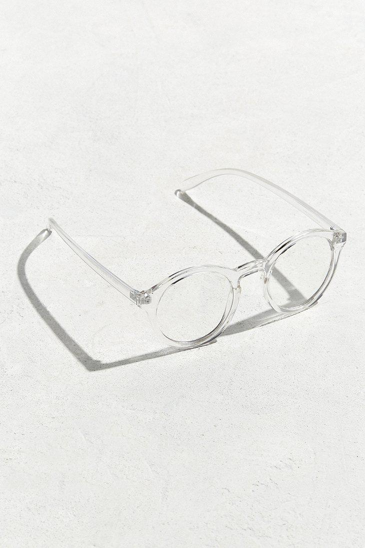 7f95ccfc16 Lyst - Urban Outfitters Uo Plastic Round Readers for Men