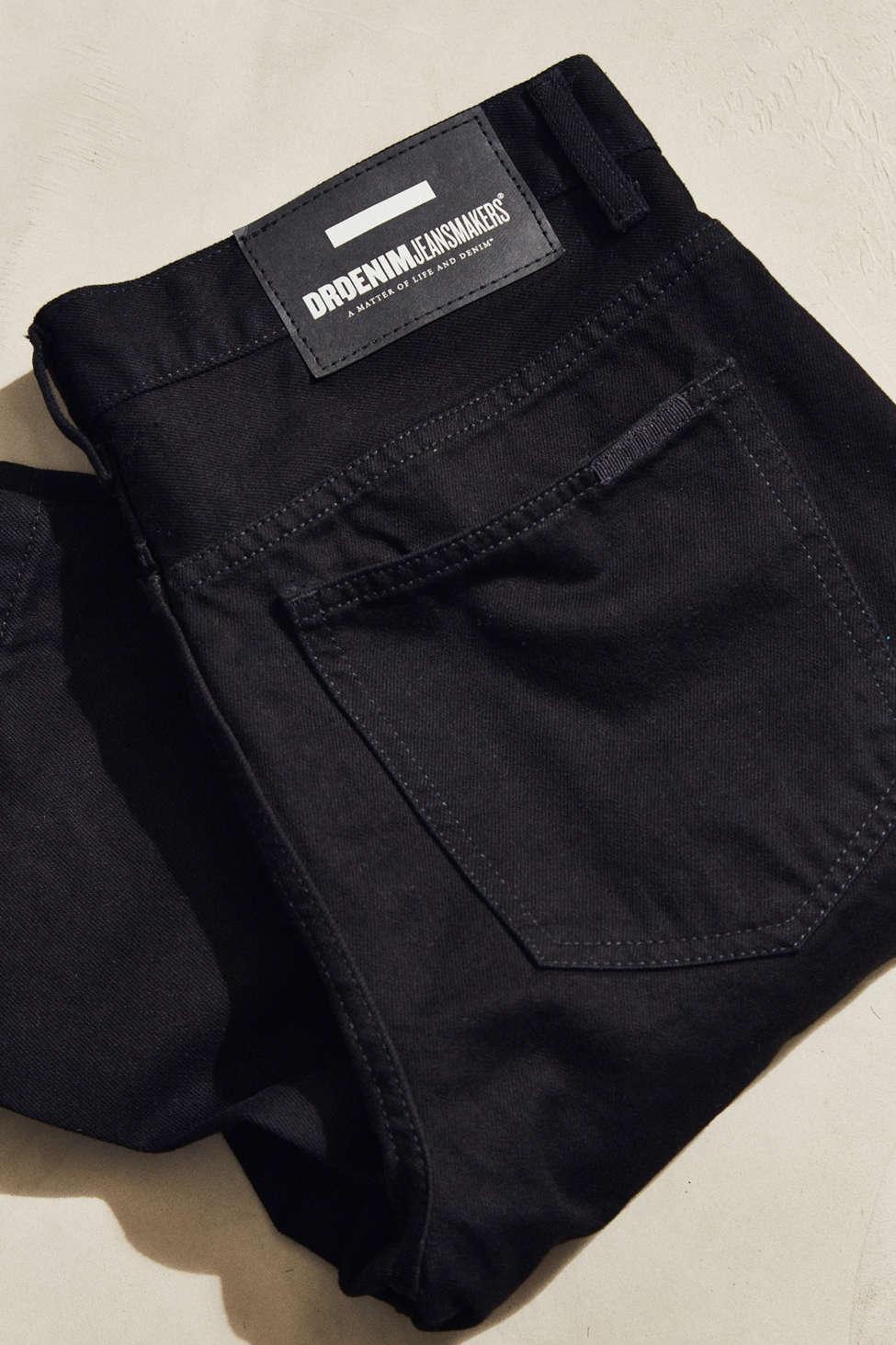 c8e30e40d05 Lyst - Dr. Denim Otis Black Wash Cropped Jean in Black for Men