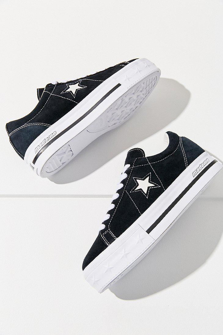 79bac1bd54d7 Lyst - Converse Converse One Star X Mademe Suede Platform Sneaker in ...