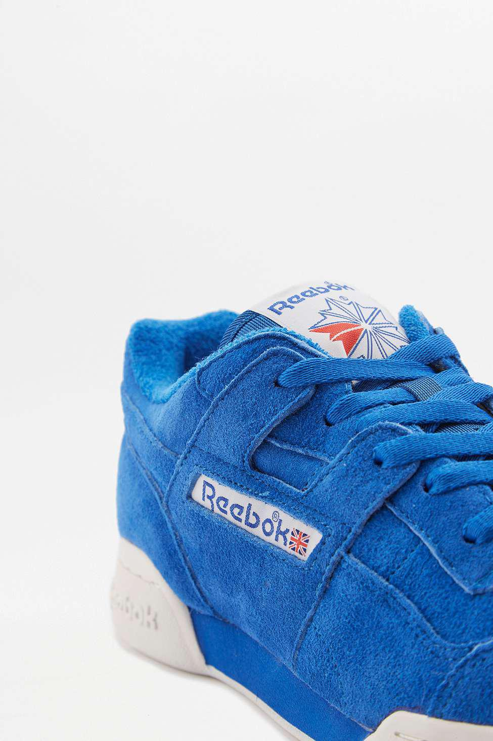 Reebok Workout Plus Vintage Awesome Blue Trainers - Mens Uk 8 in ... b6380aa25