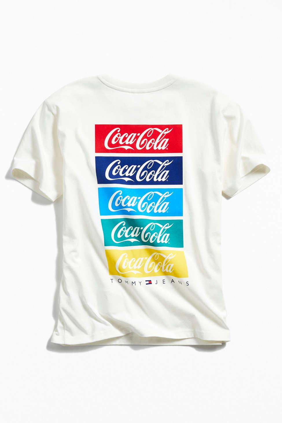 7f16c9af1 Tommy Hilfiger X Coca-cola Repeat Tee in White for Men - Lyst