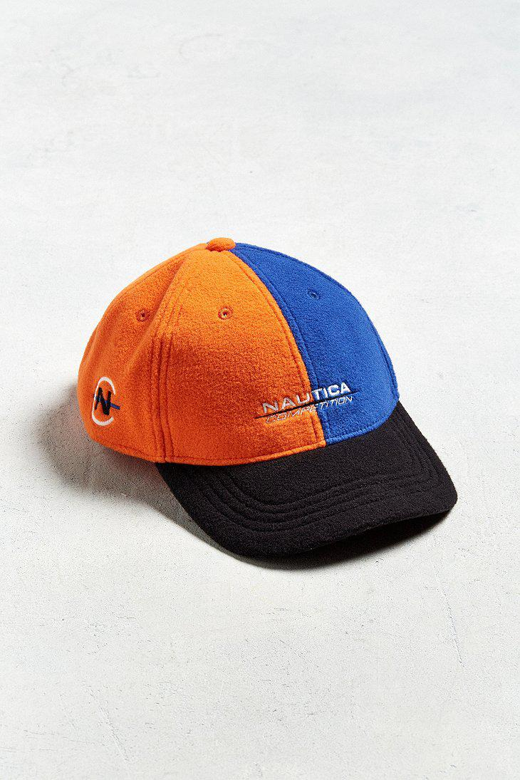 ce6a147639e Lyst - Urban Outfitters Nautica + Uo Polar Fleece Baseball Hat in ...