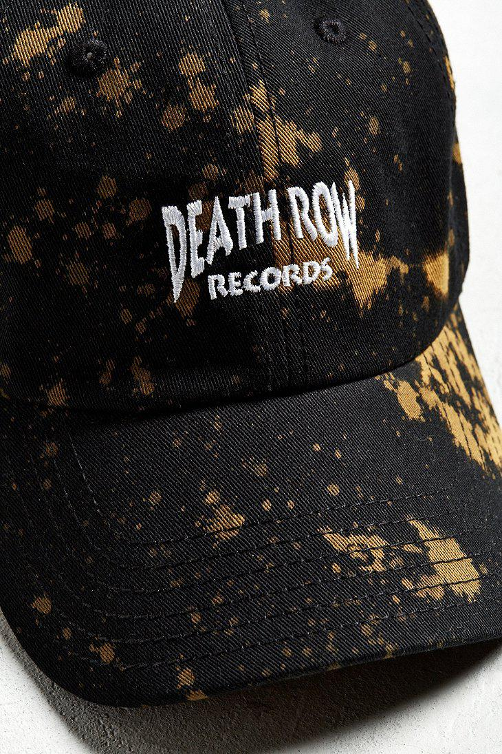 Lyst - Urban Outfitters Death Row Records Baseball Hat in Black for Men 97f3404b7a6