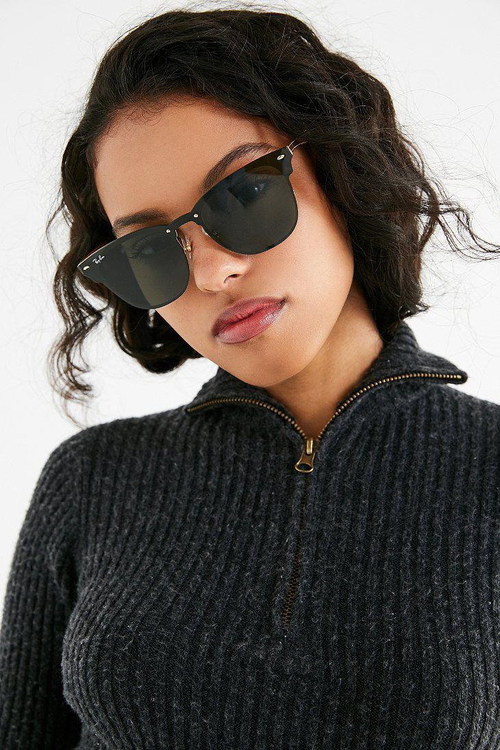 cfe181249e ... canada gallery. previously sold at urban outfitters womens clubmaster  sunglasses womens ray ban clubmaster 444d5