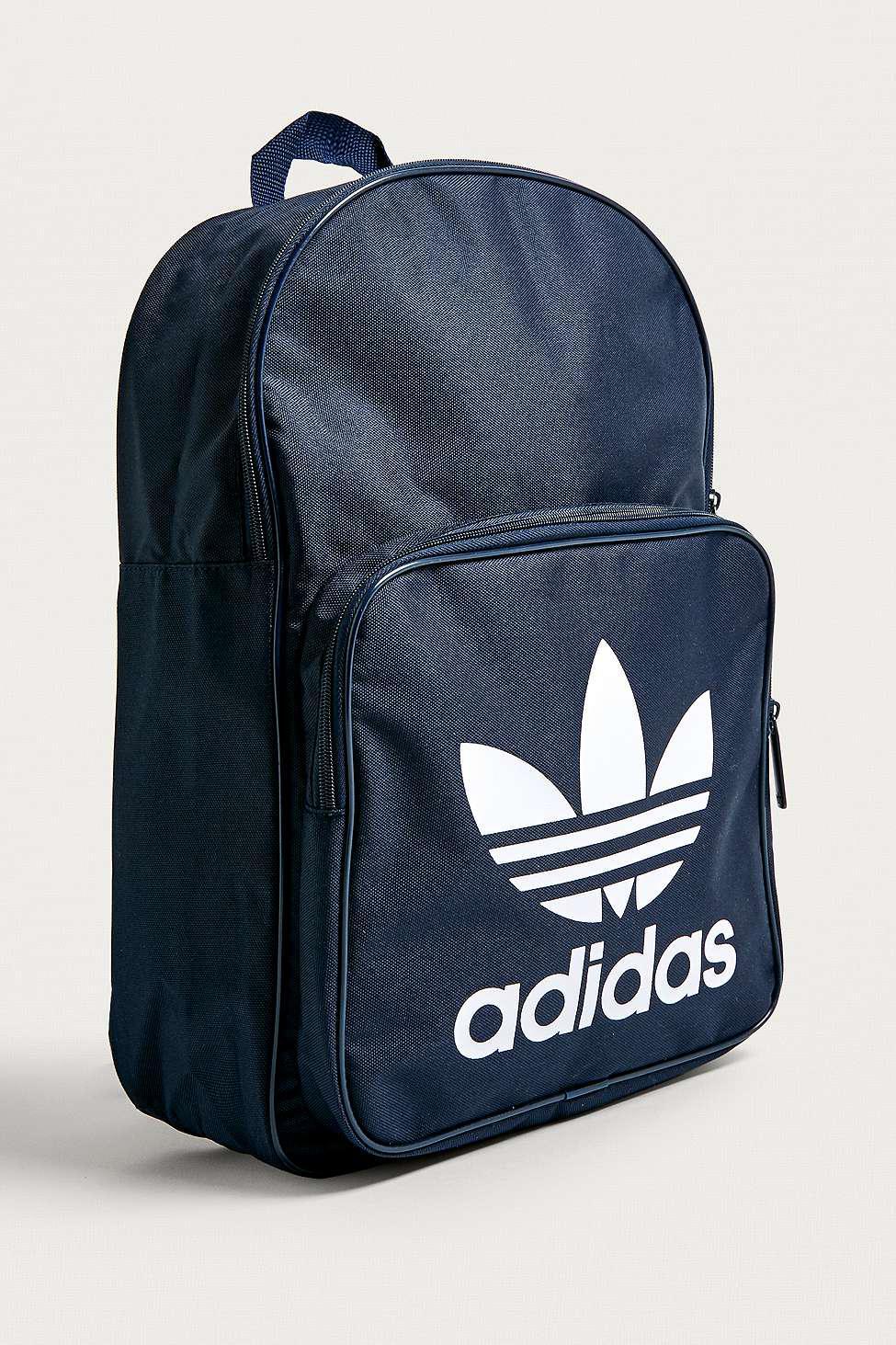 4b8e9394ce Adidas Trefoil Navy Backpack in Blue for Men - Lyst