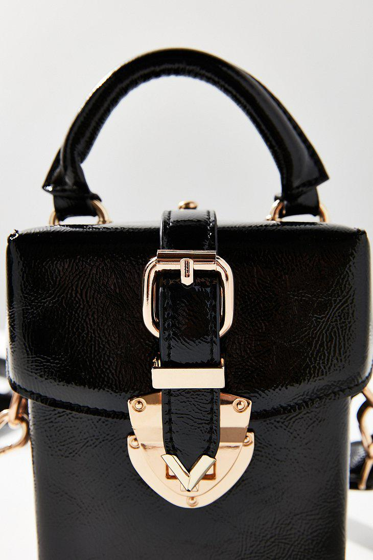 34a178db0535 Lyst - Urban Outfitters Maud Structured Mini Crossbody Bag in Black