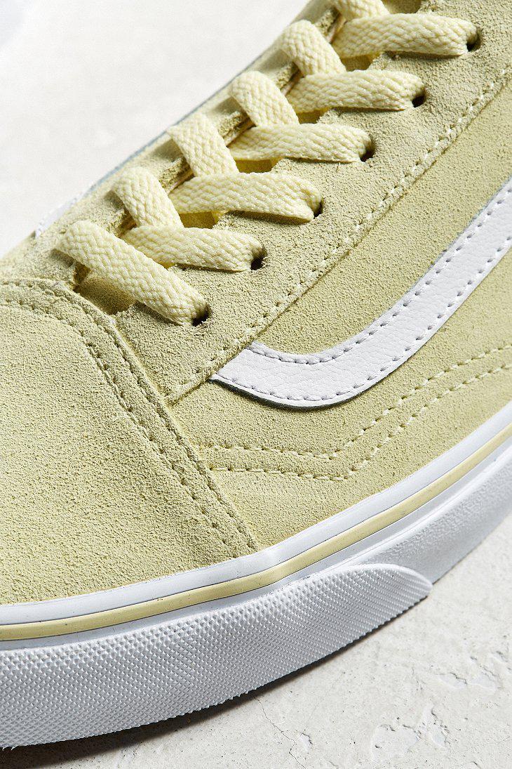 940e40a3259a9e Lyst - Vans Vans Old Skool Tender Yellow Sneaker