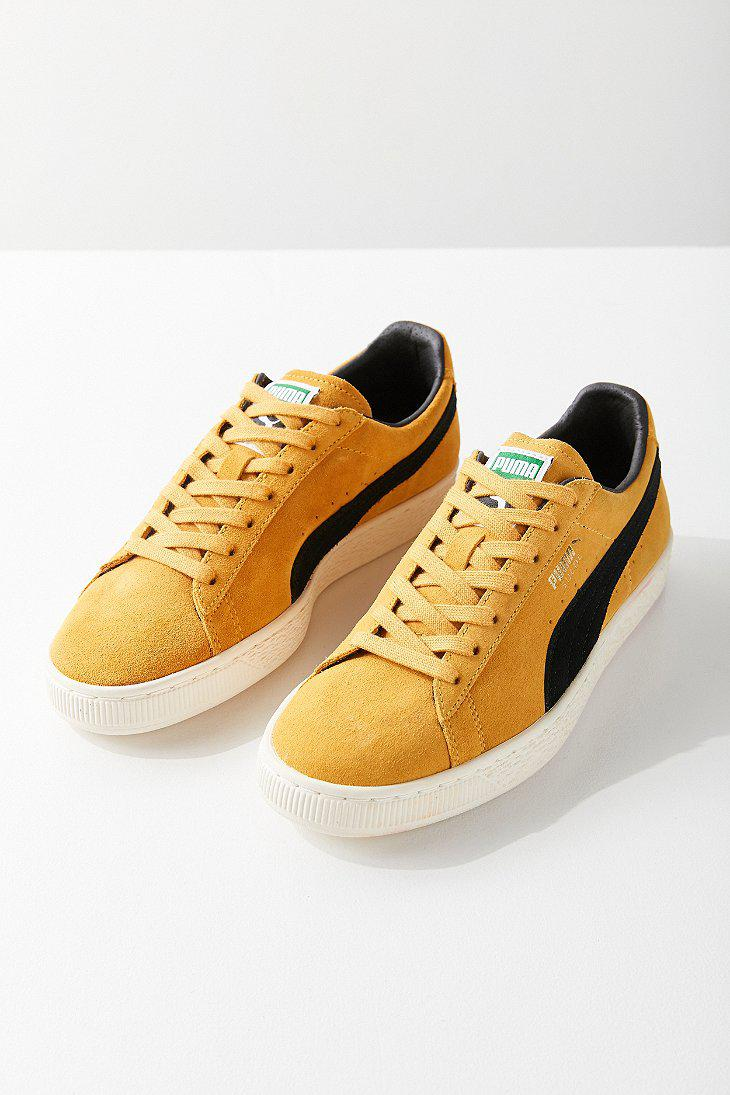 9ae3fe701c8 Lyst - PUMA Puma Suede Classic Archive Sneaker in Yellow for Men