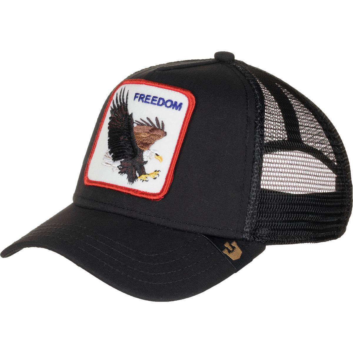 e8ae3573ad Lyst - Goorin Bros Freedom Hat in Black for Men
