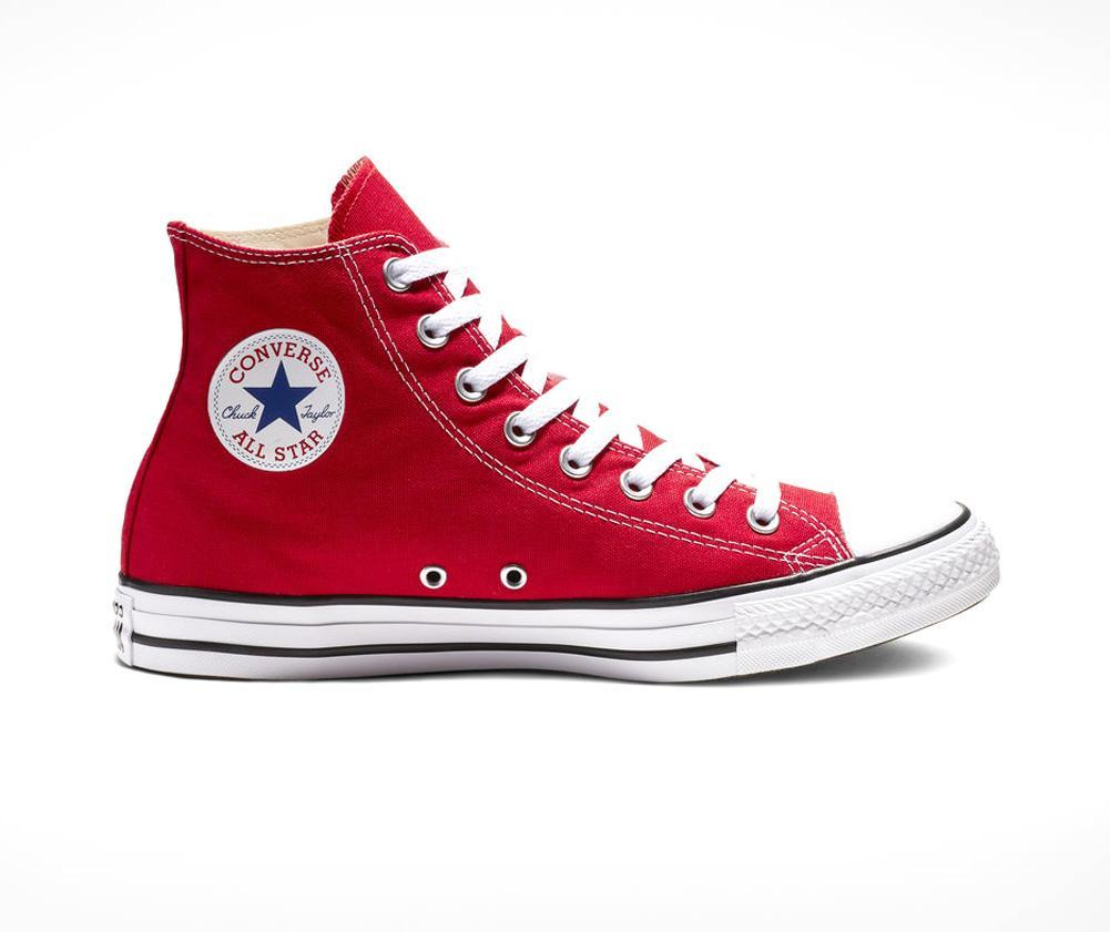 4522e735dcb9 Lyst - Converse All Star Hi Unisex in Red for Men