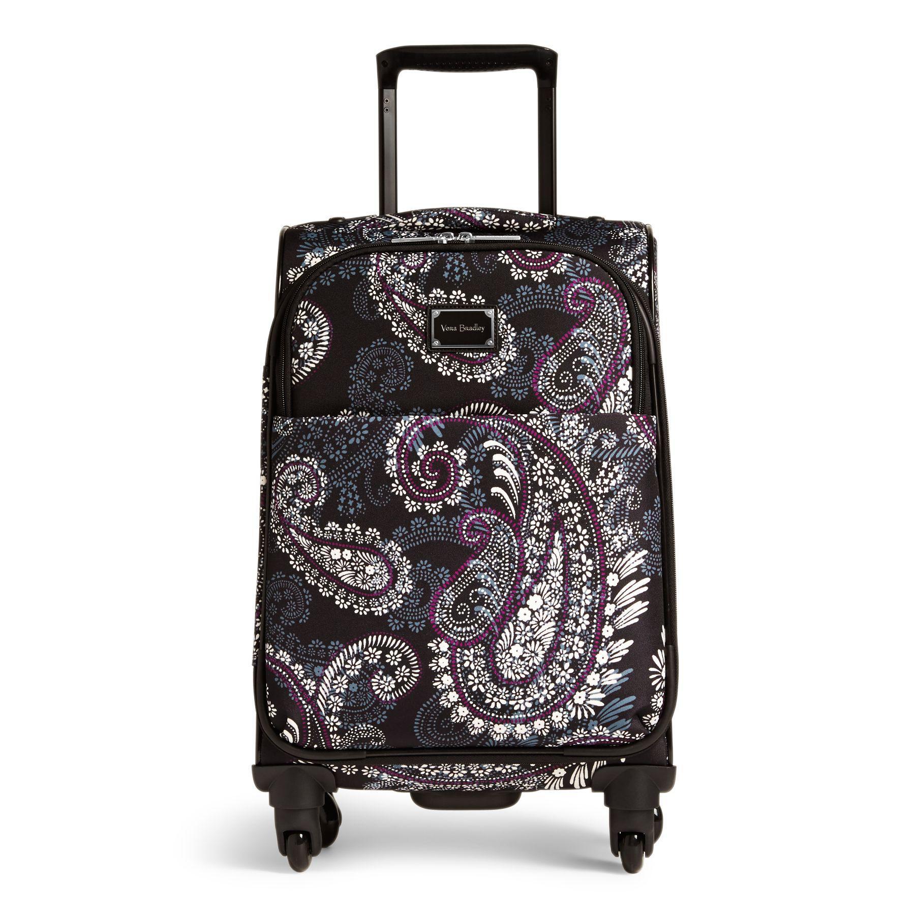 d5481c8e6830f Lyst - Vera Bradley Spinner Luggage Set in Black