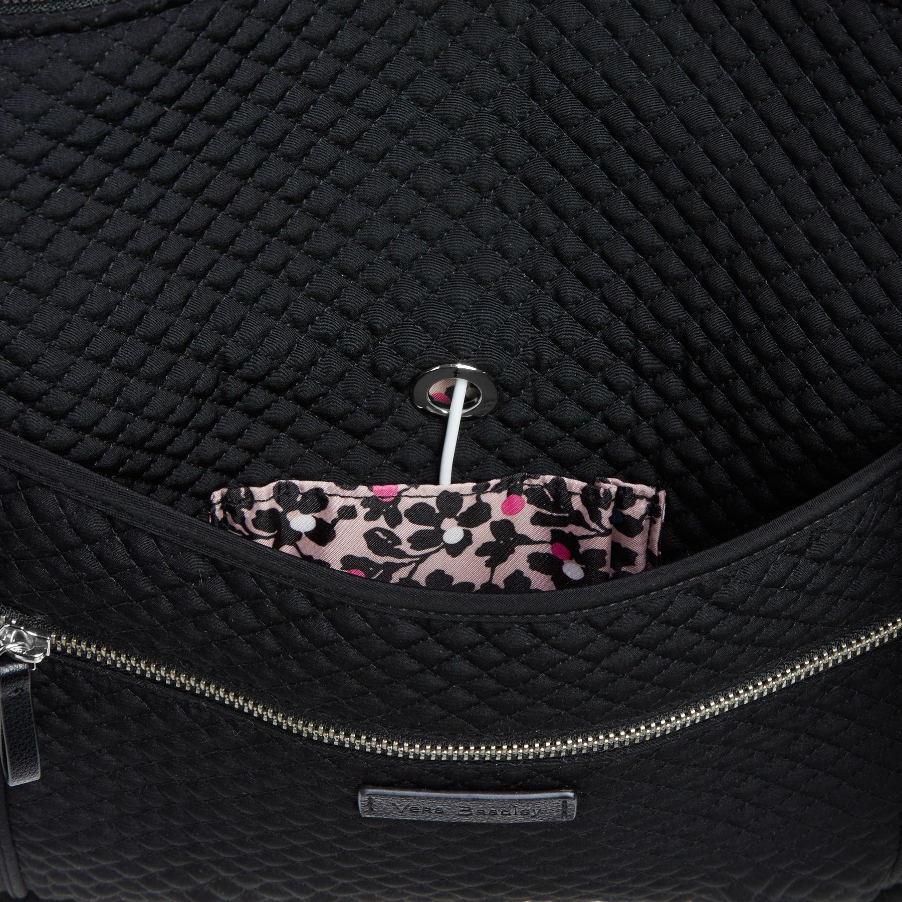 Lyst - Vera Bradley Iconic Miller Travel Bag in Black a816d2ba74cc7