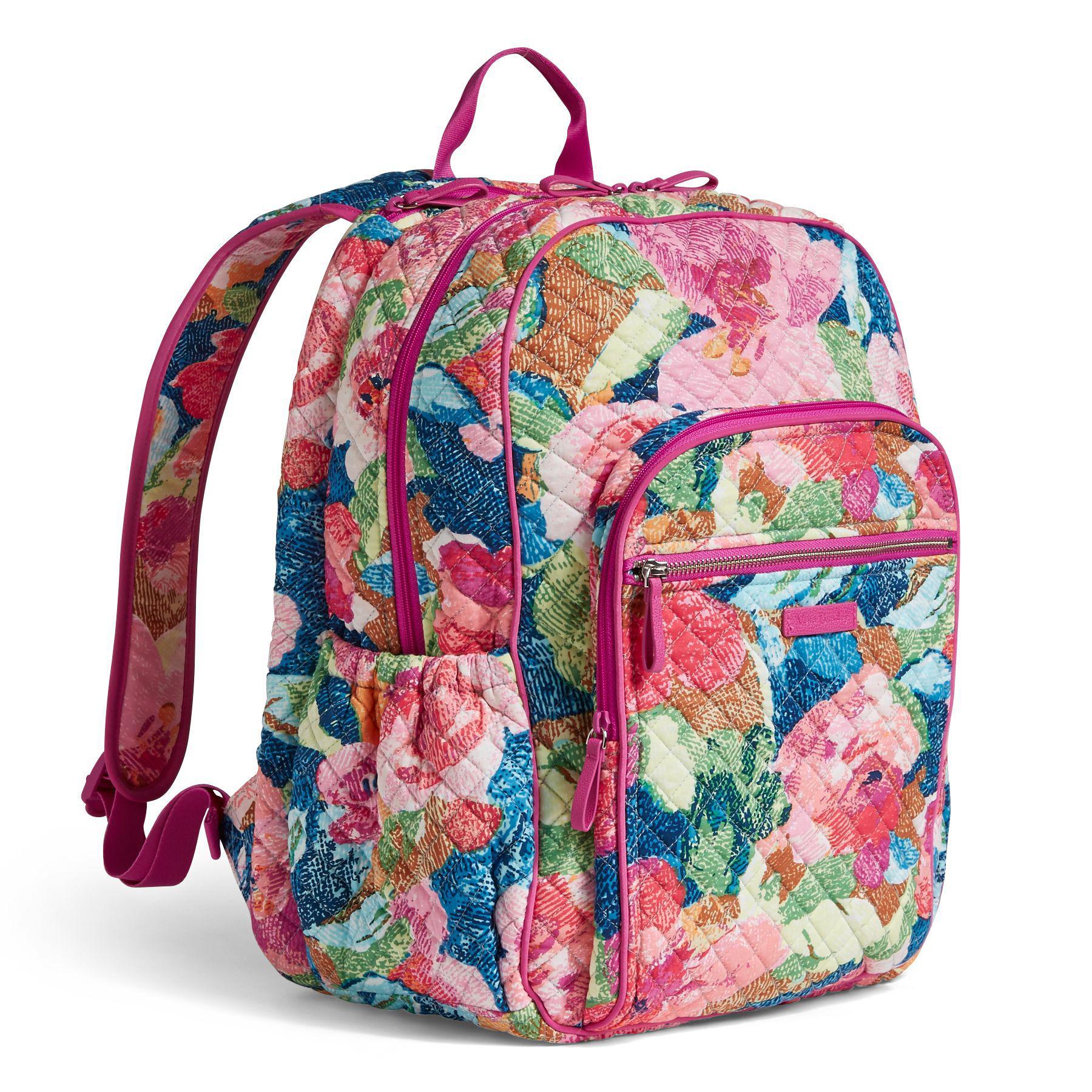 46a05133d9 Solid Pink Vera Bradley Backpack- Fenix Toulouse Handball