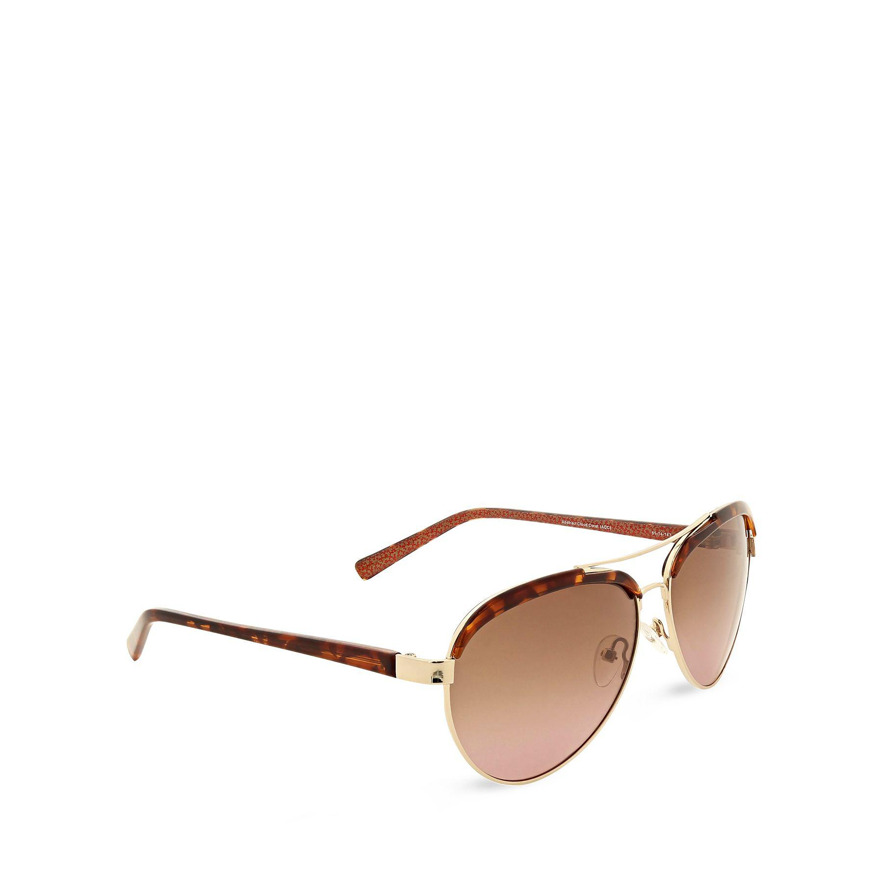 30c6495d63d24 Lyst - Vera Bradley Etta Sunglasses in Brown