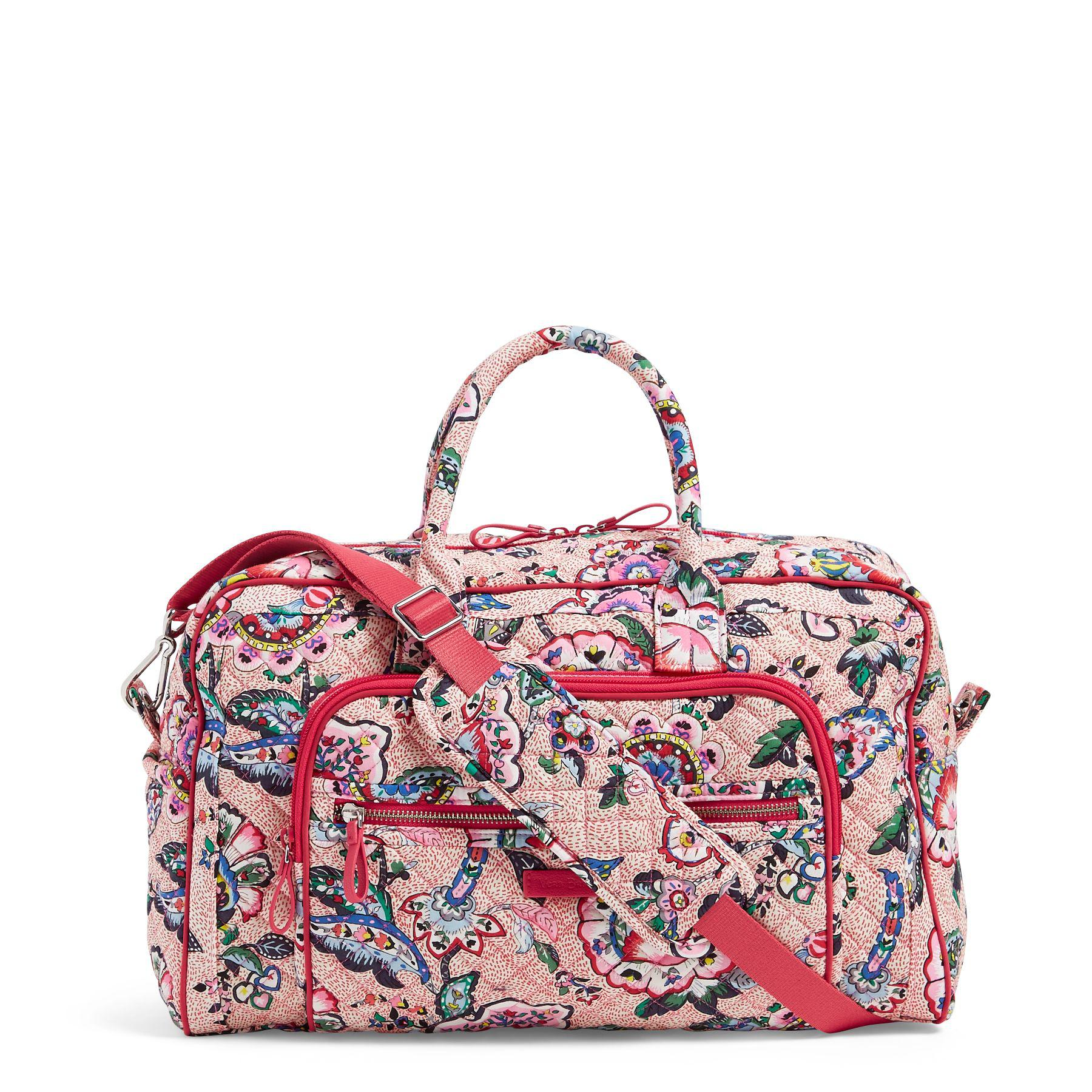 b3db470ce Vera Bradley. Women's Iconic Compact Weekender Travel Bag