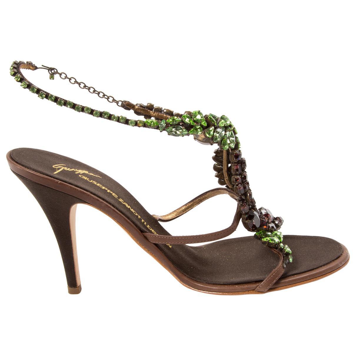 Pre-owned - Cloth sandals Giuseppe Zanotti wjncA2lR61