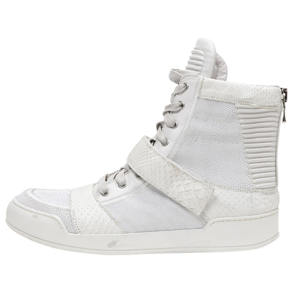 Pre-owned - TRAINERS Balmain dkrQHK